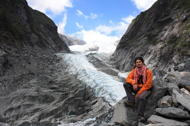Mt. Aspiring národní park – ledovce