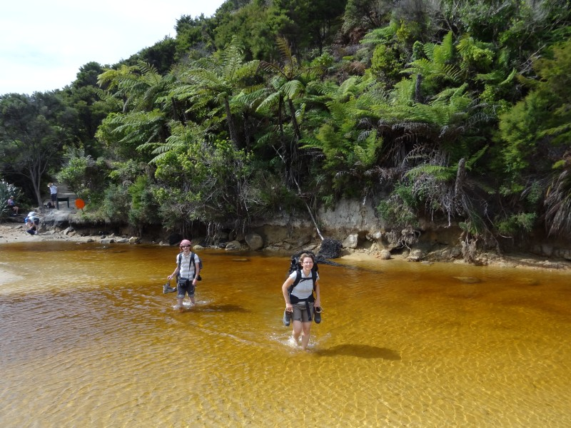 "Abel Tasman trek – ""vodní"" trek"