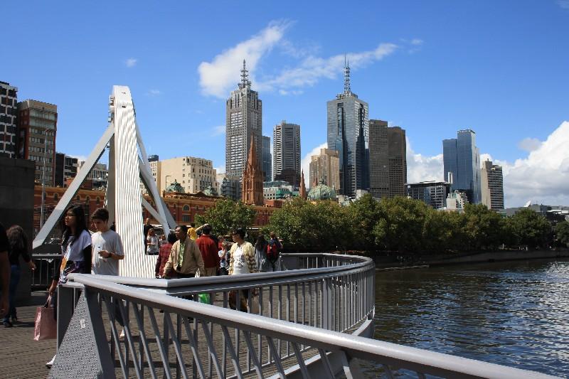 Zemi klokanů začínáme v Melbourne
