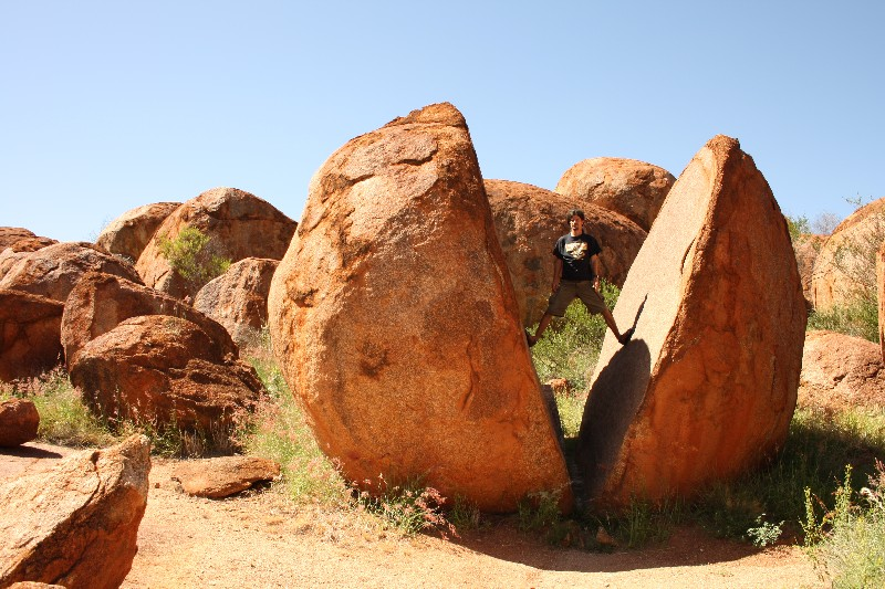 Alice Springs, Devils Marble a Daly Waters