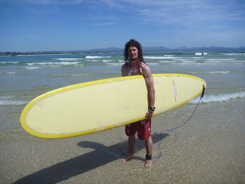 Byron Bay – surfový ráj – i pro mě? :-)