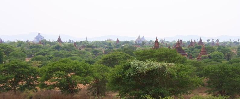 Bagan – tisíce chrámů na všechny strany