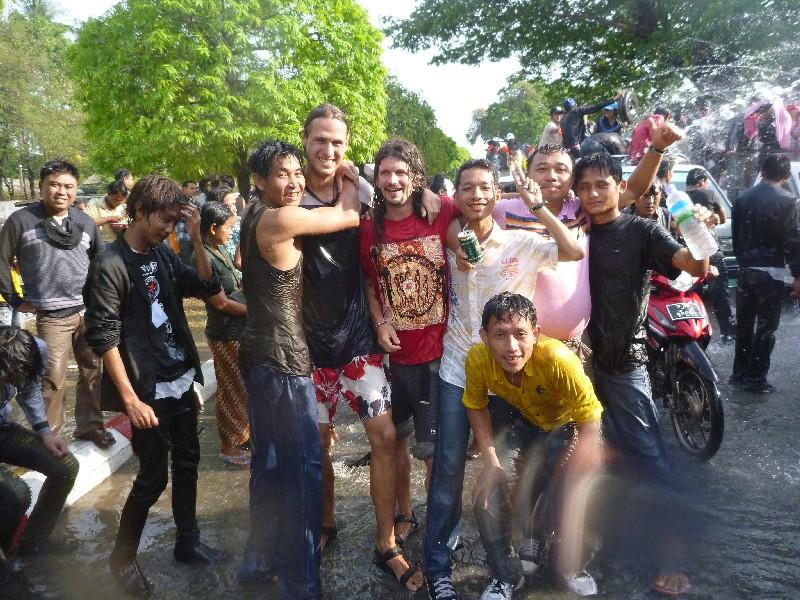 Vodní peklo v Mandalay :-)