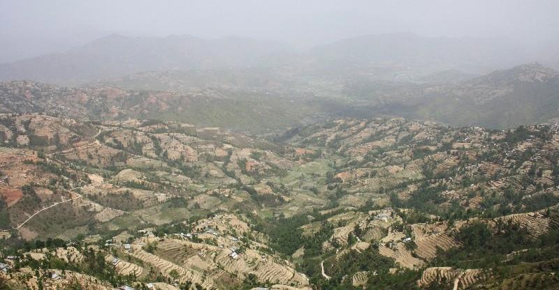 První treky v Kathmandu Valley