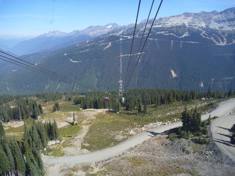 Září – hledání nového ubytka, Peak 2 Peak