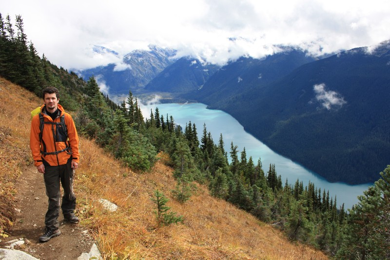 Září – trek na Whistler Mountain
