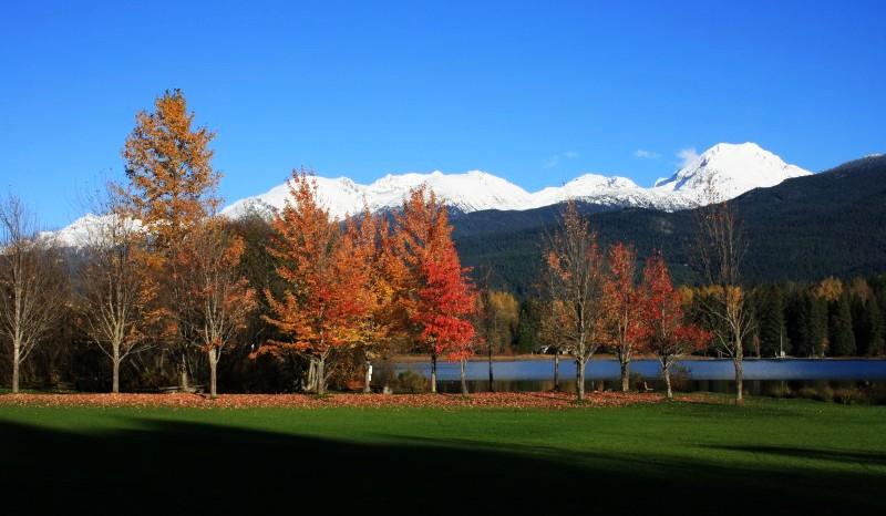 Říjen – typický podzim ve Whistleru