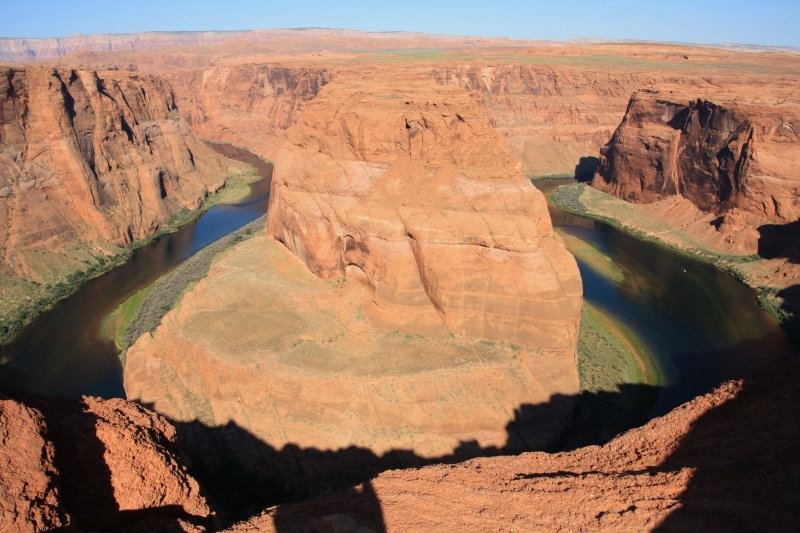 Horseshoe bend a Monument Valley