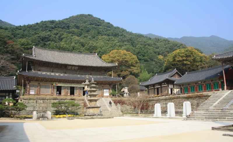 Jirisan NP – Hwaeonsa chrám