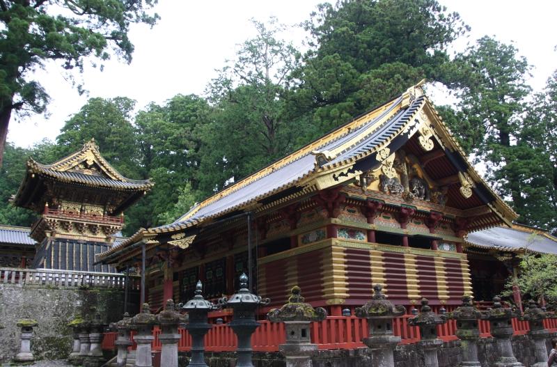 Nikko – další chrámová oblast