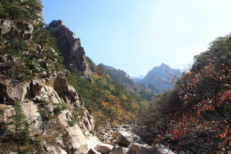 Sokcho a Seoraksan národní park