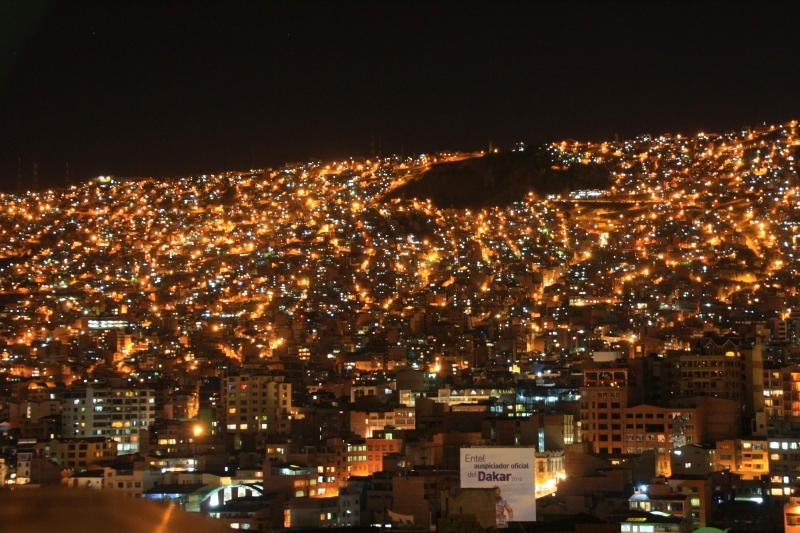 La Paz – hlavní město Bolívie