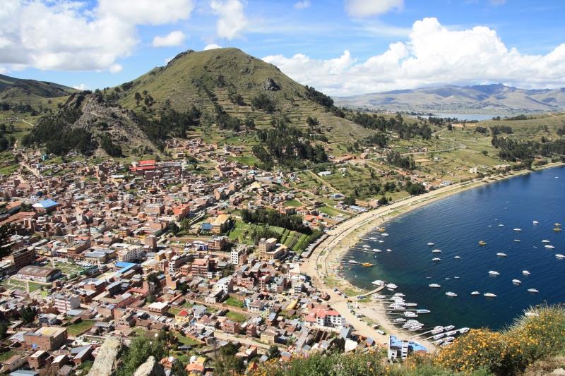 Copacabana – 1. setkání s jezerem Titicaca