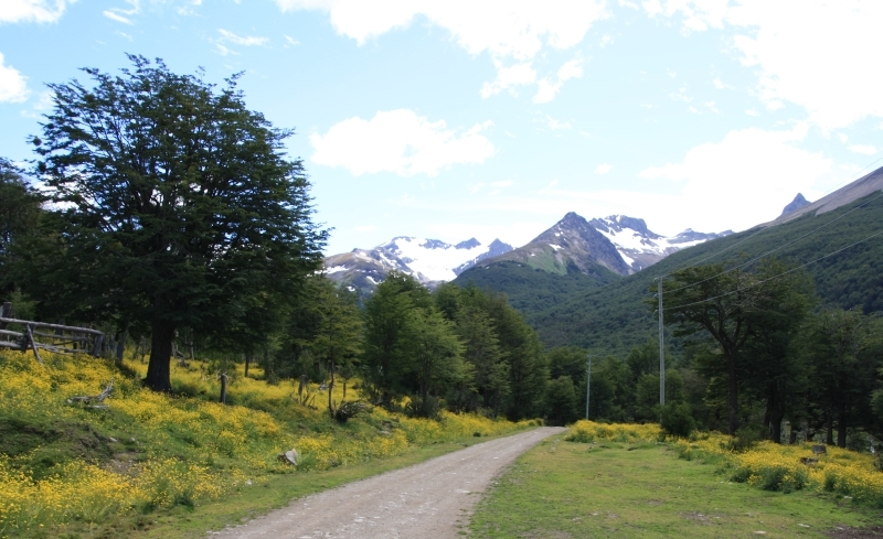 2-denní trek kolem Ushuaia