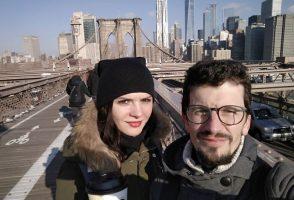 New York City před Vánocemi
